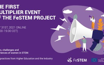 First Multiplier Event of the FeSTEM project